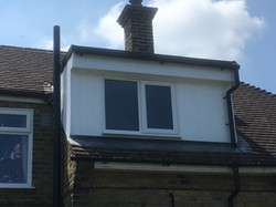 Flat Roof, New Window and Cladding