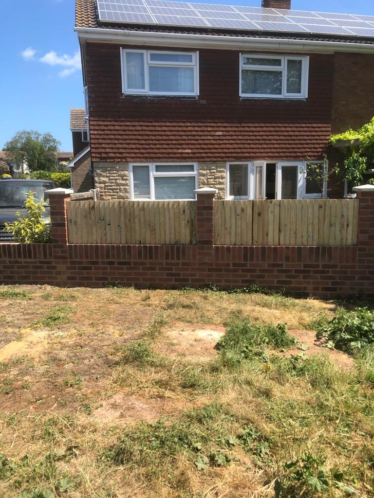 New Garden Wall and Fence Infill