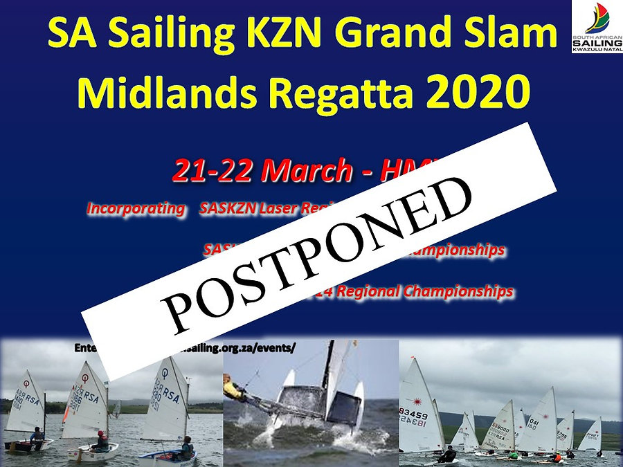 SAS KZN MIDLANDS GRAND SLAM REGATTA 2020