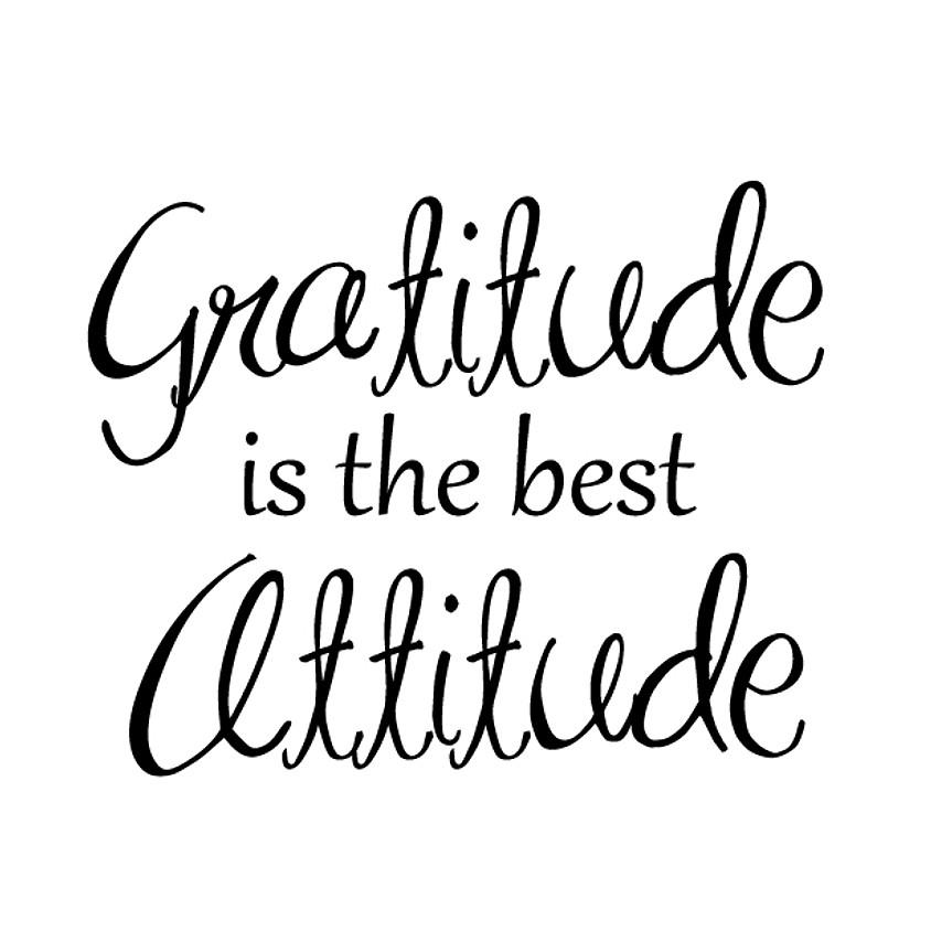 An Attitude of Gratitude (Dalet Family Program)