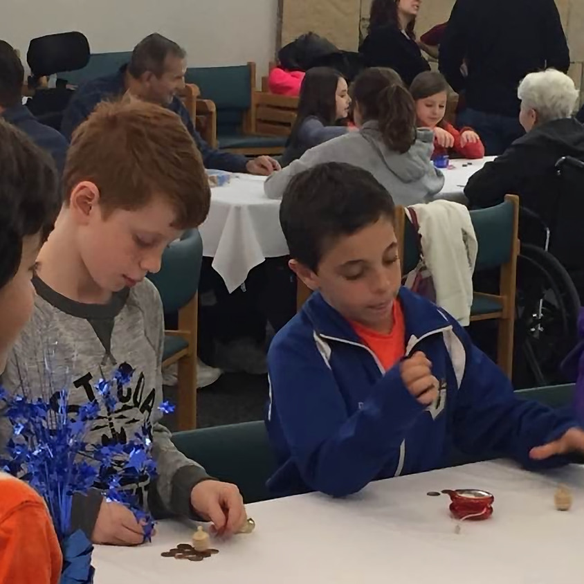 Family Connections Sholom Home Hanukkah Party