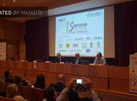 FEDER is the voice of people with rare diseases and Manatís was its loudspeaker