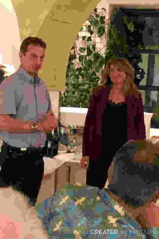 Ürs Muller presidente de Eusga junto a Jacqueline Ruiz C.