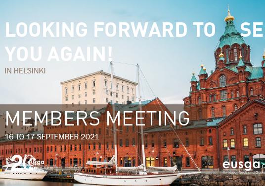 Los miembros de Eusga se reencuentran tras la pandemia en Helsinki.