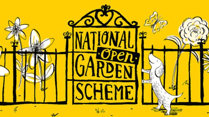 National Open Garden Scheme with Ashton Walled Garden