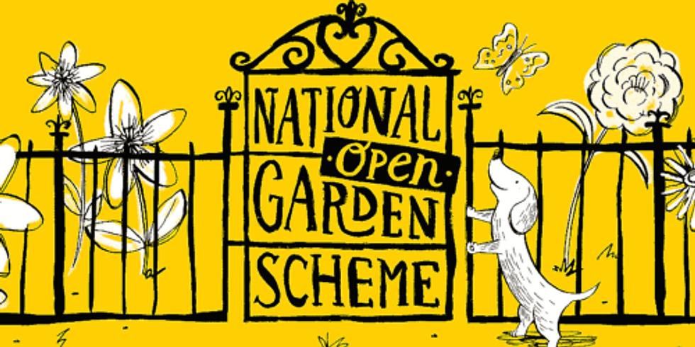 National Open Garden Scheme with Let's Grow Preston