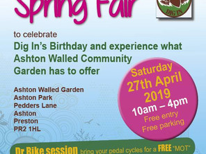 Calling All Stallholders - The Let's Grow Preston Spring Fair Is Coming!