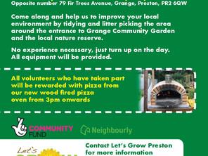 Grange Community Garden Tidy Up