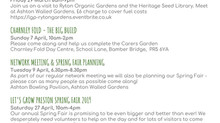 There's lots of ways that you can get involved with Let's Grow Preston...