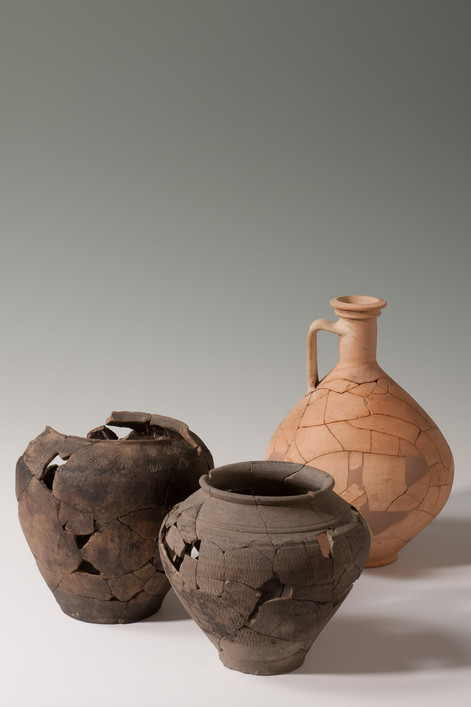 Geschirr aus den römischen Villen von Biberist und Langendorf
