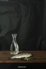 2015 Stillleben mit Essen im Stil alter Meister