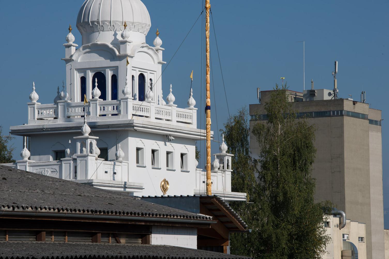 Sikh Tempel im Industriequartier Langenthal