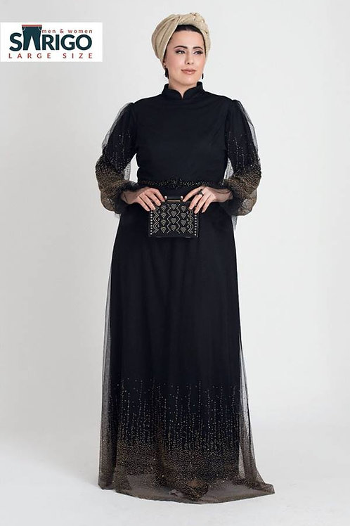 שמלת ערב מוזהבת