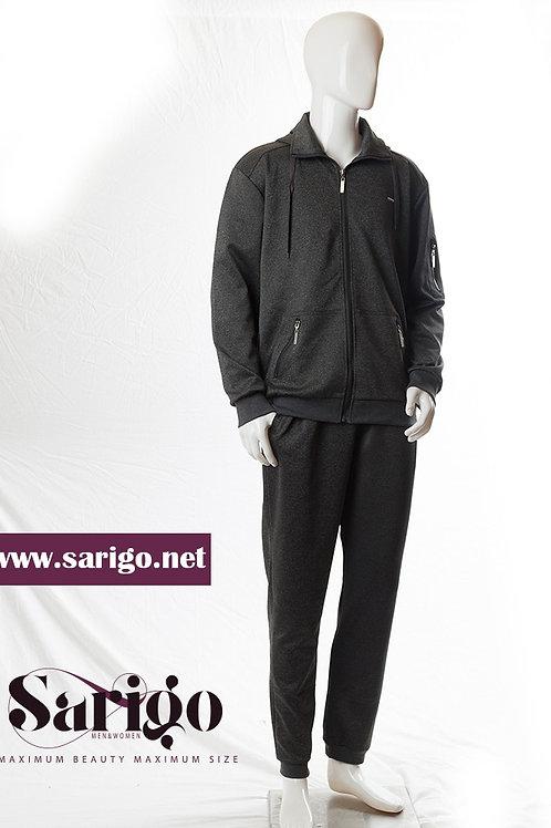 חליפה גבר (טרינניג) אפור כהה
