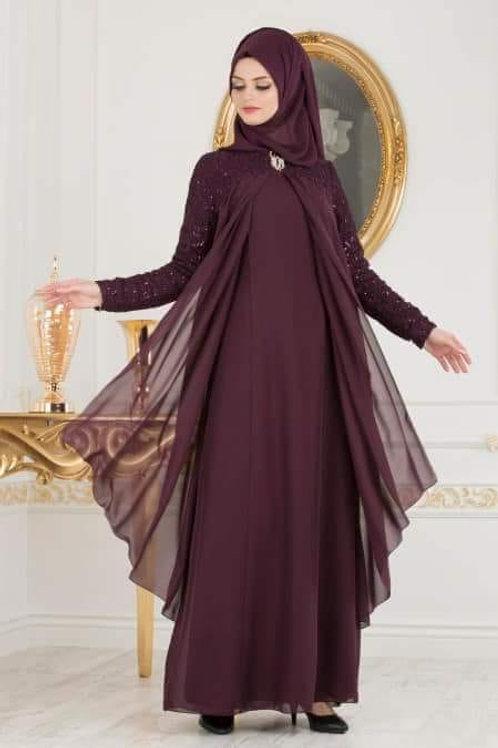 שמלת נשים מעוצבת עם שיפון
