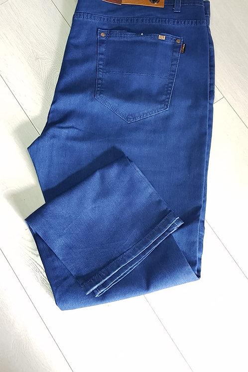 מכנס גינס גבר חלק מידה גדולה