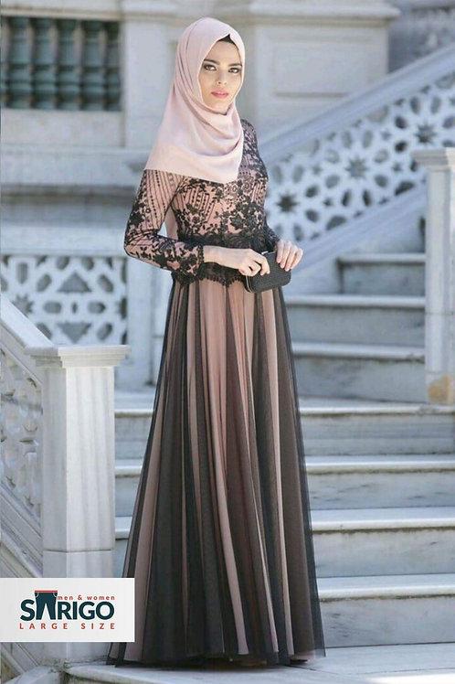 שמלת ערב  יפה אליגאנטית