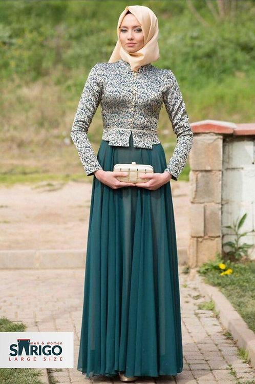 שמלת ערב יפה לאירועים ירוק