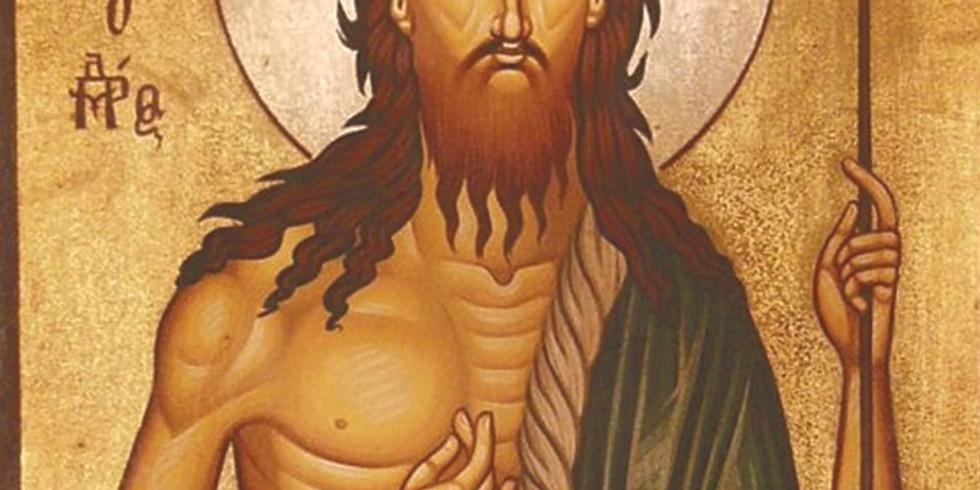 Divine Liturgy - Memorial of St John The Baptist