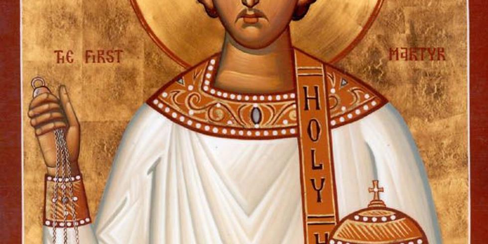 Divine Liturgy - Memorial of St Stephanos The Martyr