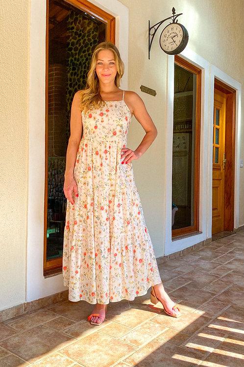 Vestido Helô (florido)