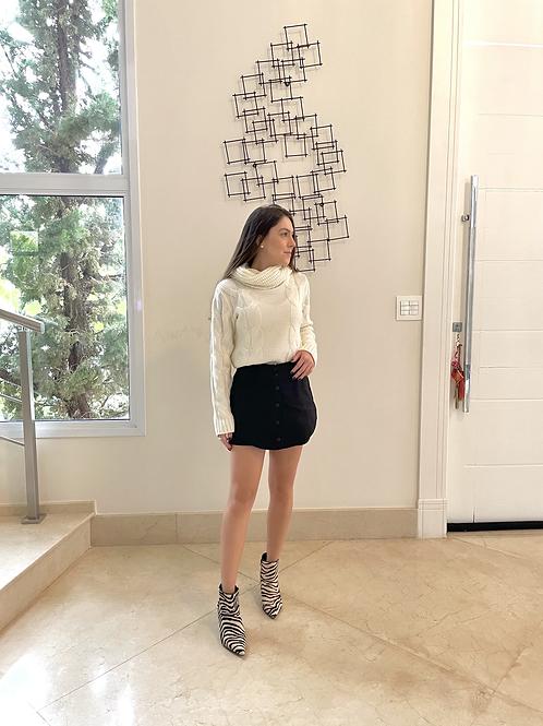 Shorts Saia Stela  (preto)