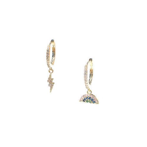 Argola spring (dourado)