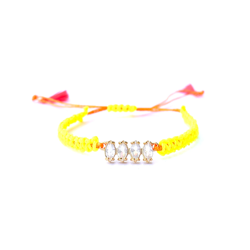 Pulseira Nani (amarela)