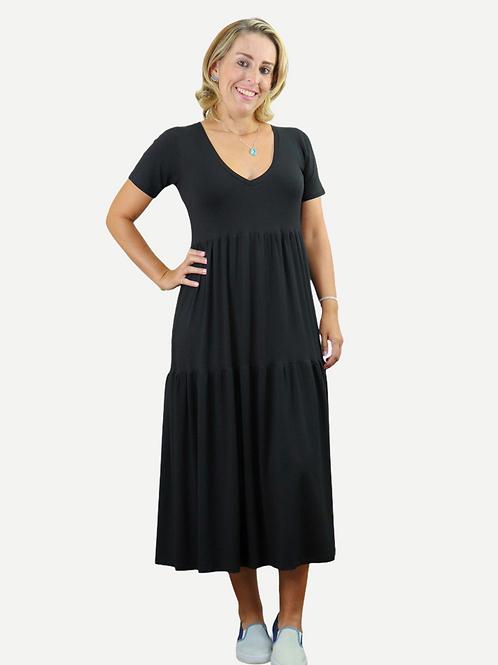 Vestido Beta (preto)