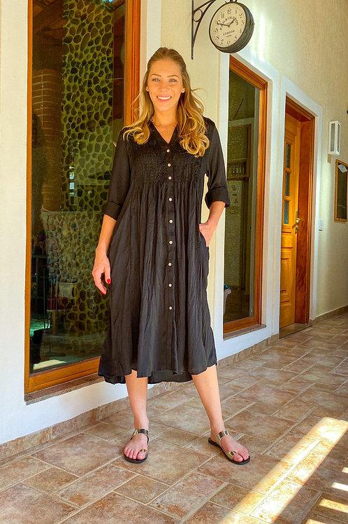 Vestido Talín (preto)