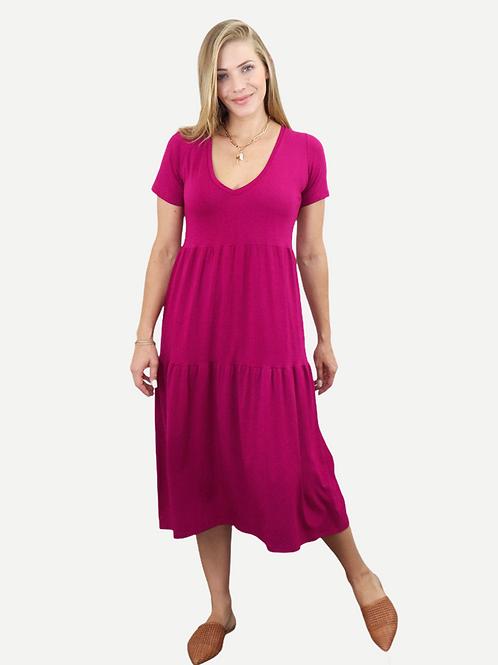 Vestido Beta (magenta)