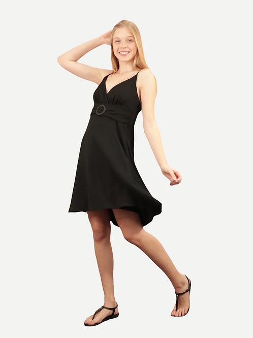 Vestido Flavia (preto)