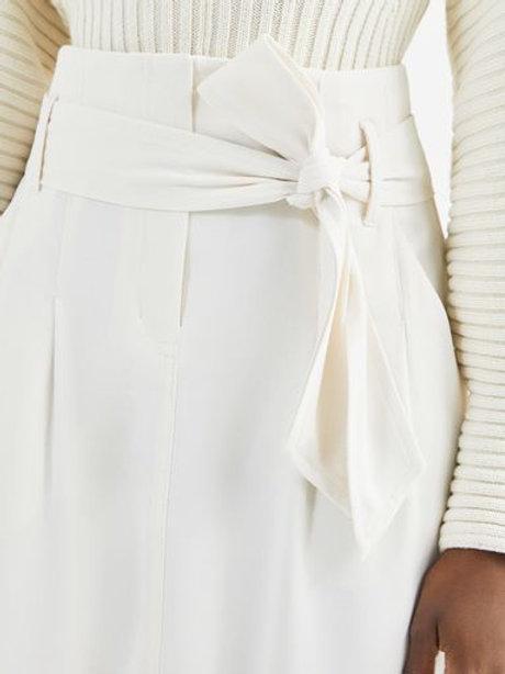 Saia clochard amarração (off white)