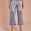 Thumbnail: Calça jeans reta cropped
