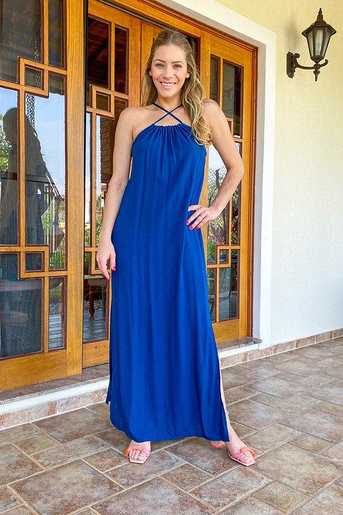 Vestido Betty (azul petróleo)