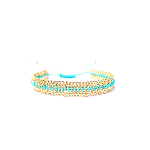 Pulseira Pati (azul)