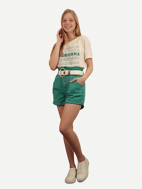 Shorts Gaia (verde)