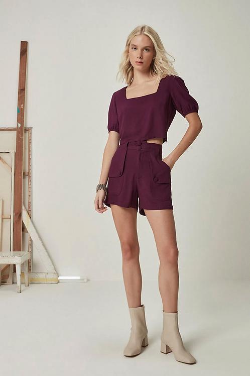 Shorts Virgínia (uva)