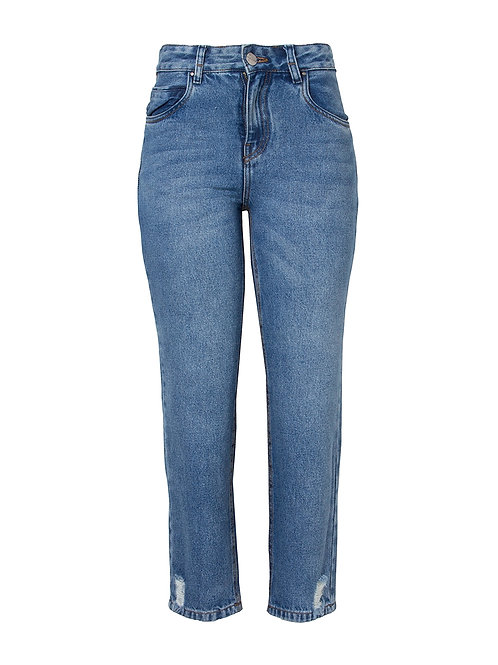 Calça Paula straigh (jeans médio)