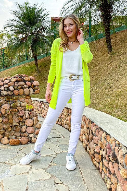 Cardigan Lica (verde lima)