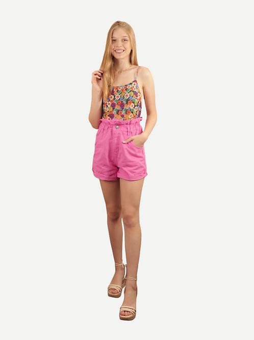 Shorts Gaia (rosa)