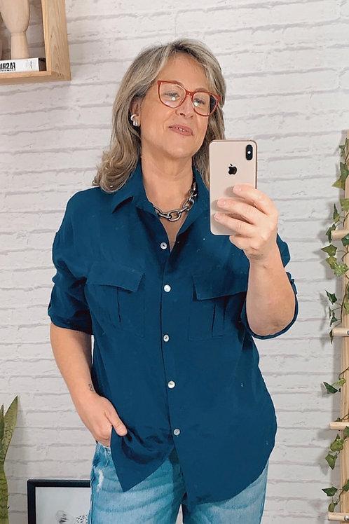 Camisa Uli (marinho)