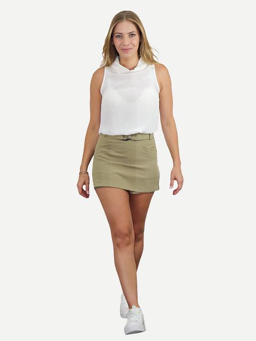 Shorts saia Grazi (sage)