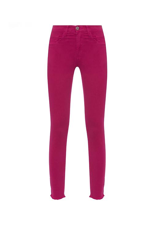 Calça basic skinny color pink
