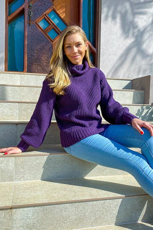 Blusa Lisa (roxa)