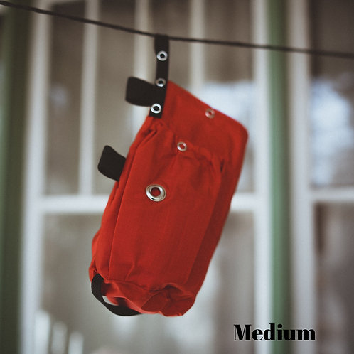 Red Go Two Bag for Dog Waste Disposal