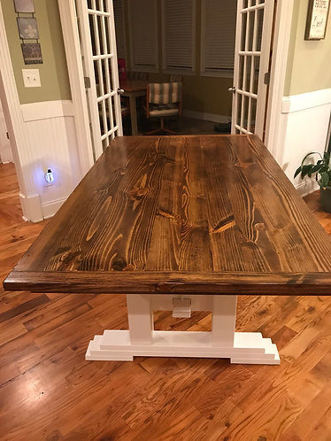Farmhouse Table ($125 per foot)