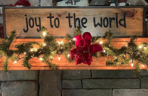 Joy to the World - Framed