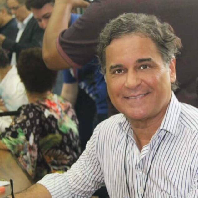 Carlos Arnaldo em evento