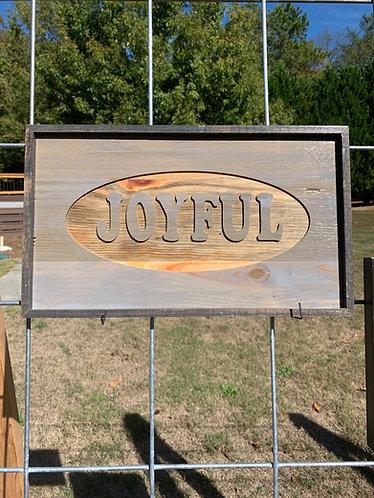 JOYFUL Sign